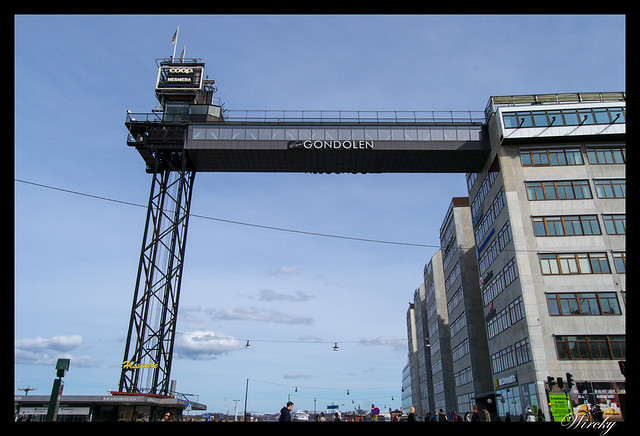 Mirador del ascensor Katarina en Estocolmo