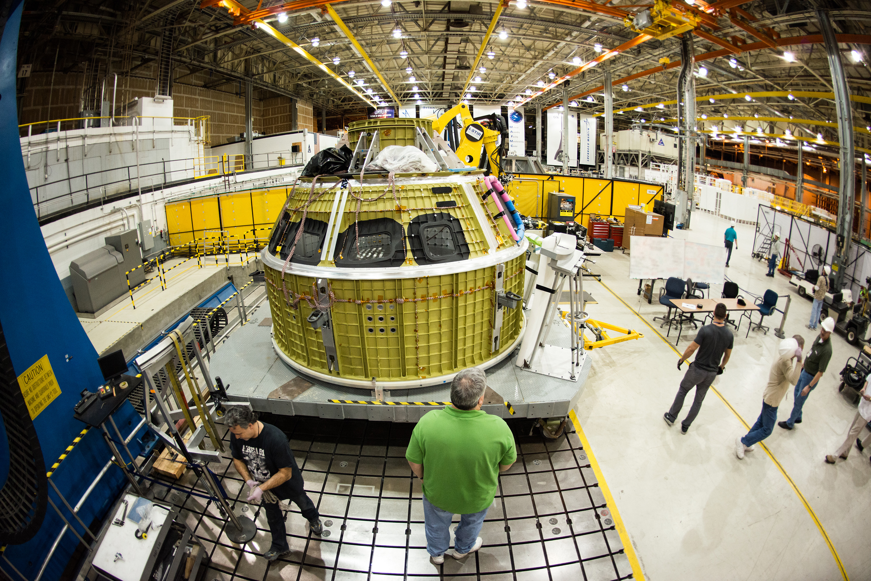 Engineers Mark Completion of Orion's Pressure Vessel (II)