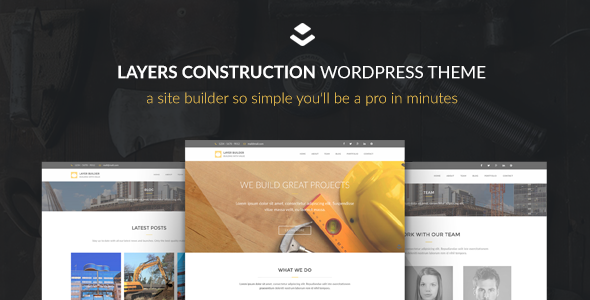Themeforest Max Construction v1.0 - Layers Construction Child Theme