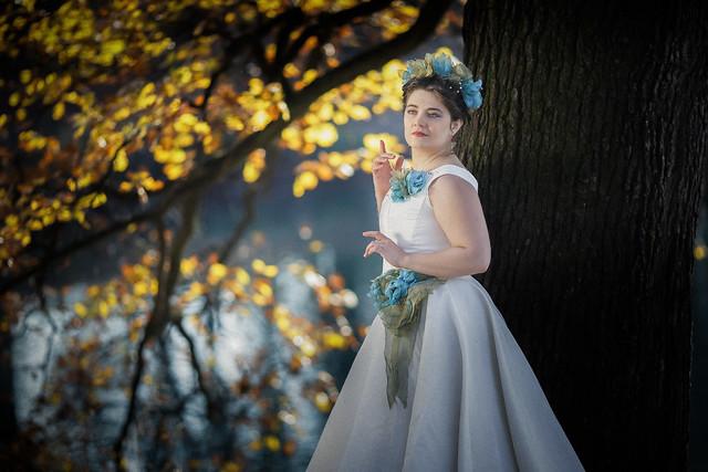 Robe de mariée sur mesure, Claudia