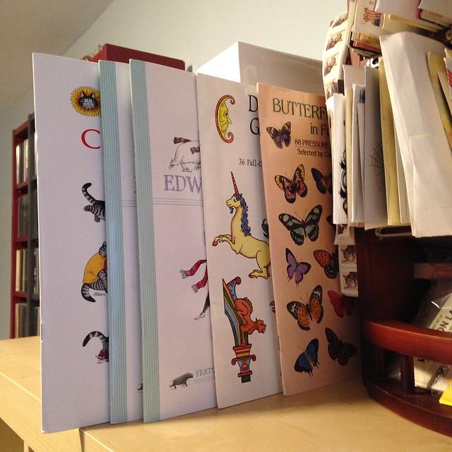 Large sticker books