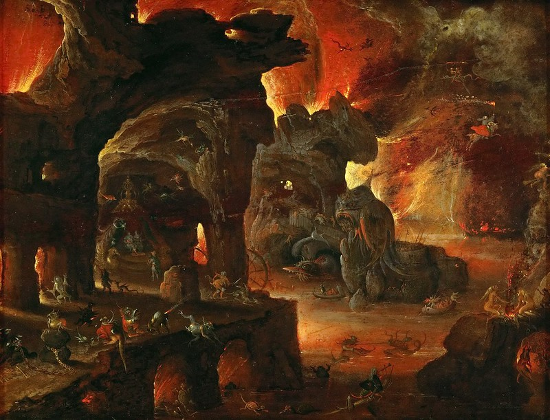 Roelant Savery - Orpheus in the Underworld, 1610-5
