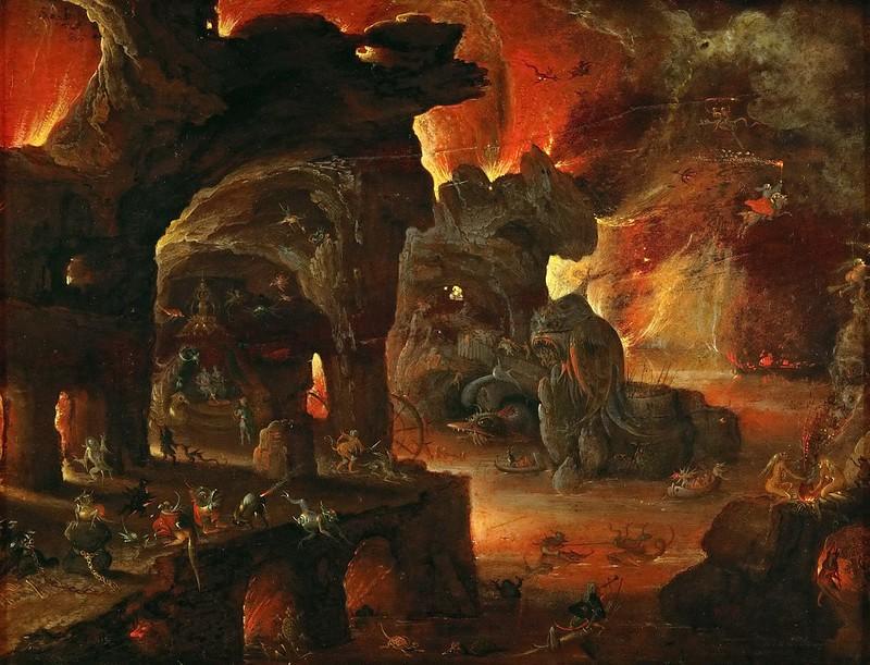Roelant Savery - Orpheus in the Underworld, 1610-5