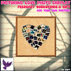 [ free bird ] Picturing Love Photo Display - February Subscribe-o Gift