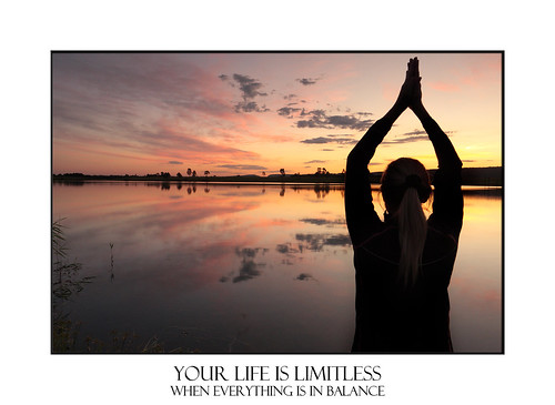Today is Limitless Yoga meditation lakeside