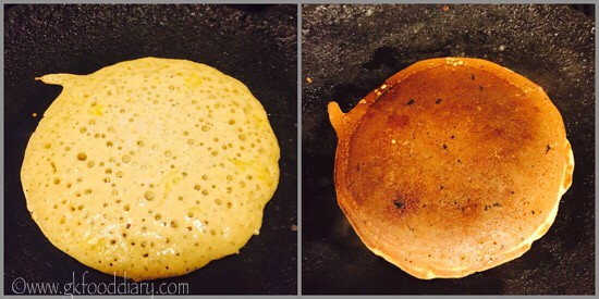 Oats Pancakes Recipe for Toddlers and Kids - step 4
