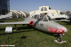 458 5-MF - 458 - French Air Force - Fouga CM-170R Magister - Polish Aviation Musuem - Krakow, Poland - 151010 - Steven Gray - IMG_9666