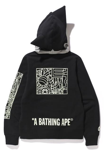 夜光效果超炫~ A BATHING APE × ASTRO BOY 連帽外套