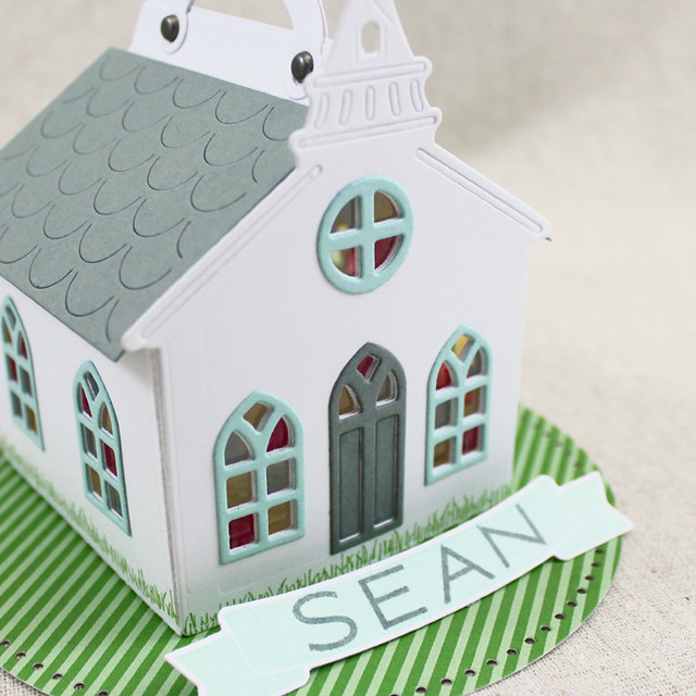 Church Placecard Close Up