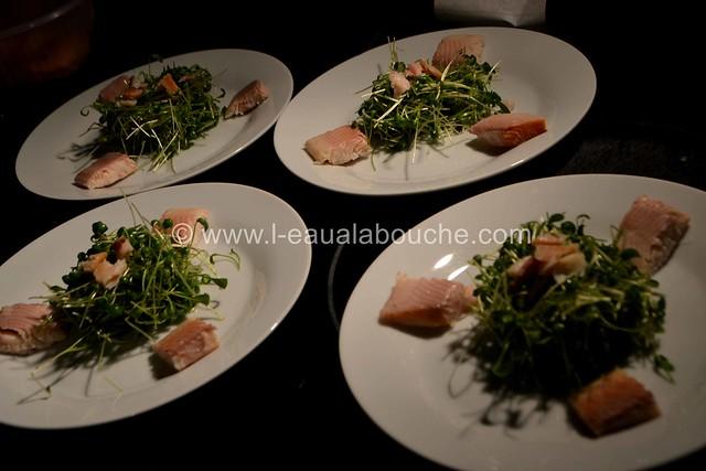 Suprême de Filet de Truite & Cresson & Perles au Balsamique et Citron © Ana Luthi Tous droits réservés 0008
