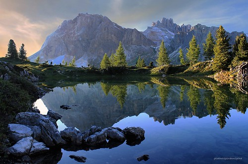 Dolomiti - Il lago Limides