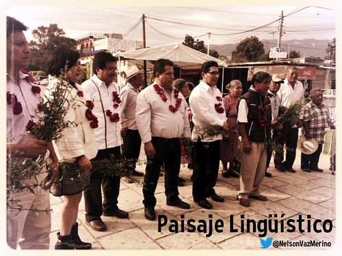 Paisaje Lingüístico = Linguistic landscape @NelsonVazMerino @INALIMEXICO #OaxacaToday #UsaTuVoz
