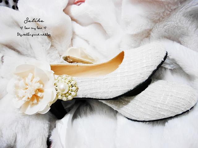 結婚新娘婚禮婚鞋diy (10)