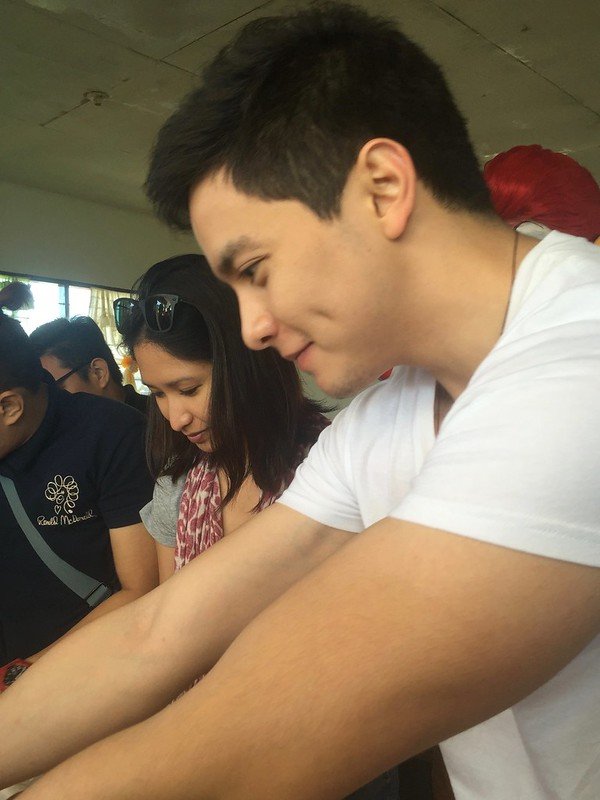 Alden Richards in Tarlac