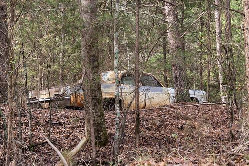 Abandoned car - 3