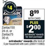Printable Zantac Coupon