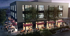 Spring District Brewpub - rendering courtesy of GGLO | Bellevue.com