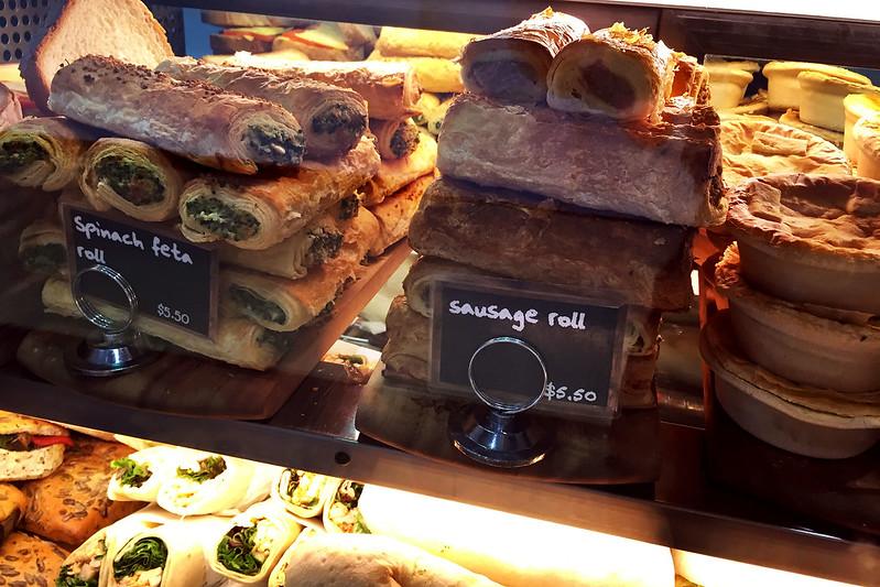 Sausage rolls, Cafe 58 1/2