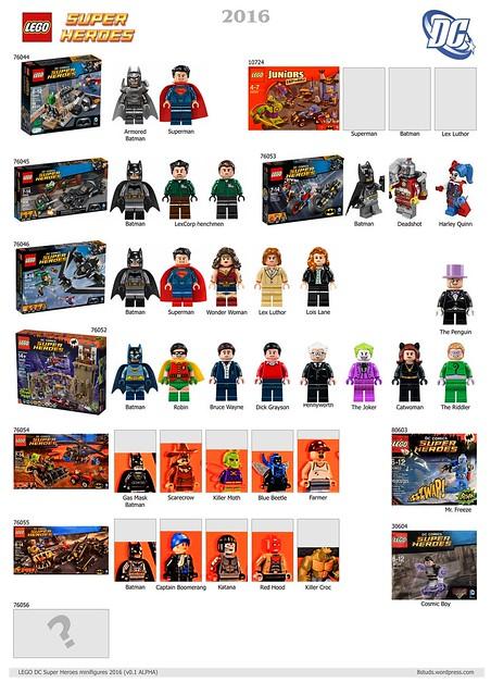 LEGO DC Marvel Super Heroes Minifigures 2016 v01ALPHA DC