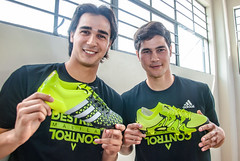 JAMES AND PHIL YOUNGHUSBAND FOR ACE AND X ADIDAS