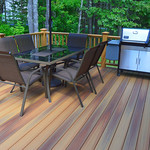 DuraLife Siesta decking in Golden Teakta-decking-in-golden-teak_15735461370_o