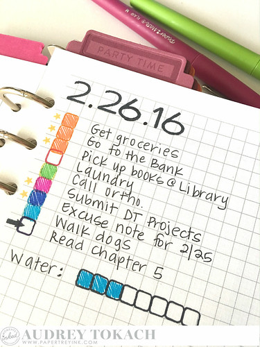 PTI Moments Inked - Bullet Journal