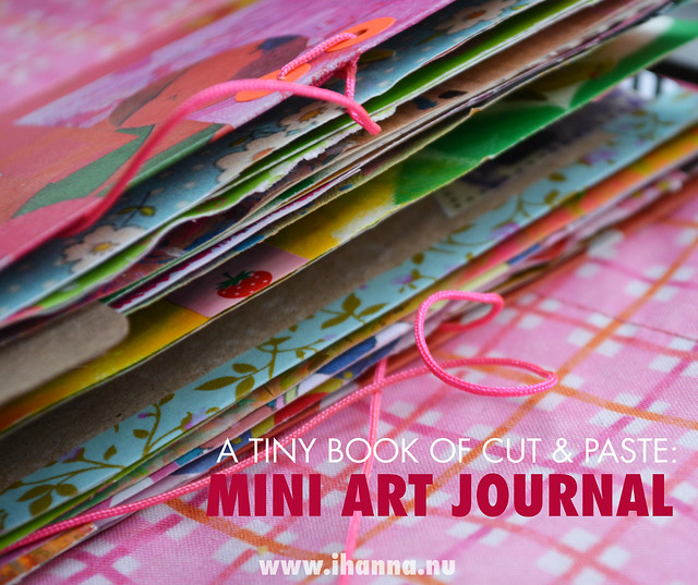 Art Journal Peek | A Tiny Book of Cut and Paste