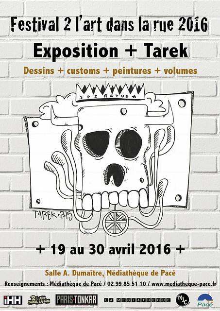 Exposition Tarek à Pacé