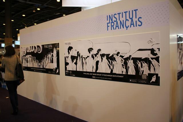 Institut français - Livre Paris 2016