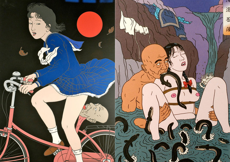 日本病態暴力美學教父 佐伯俊男Toshio Saeki 的情色烏托邦7