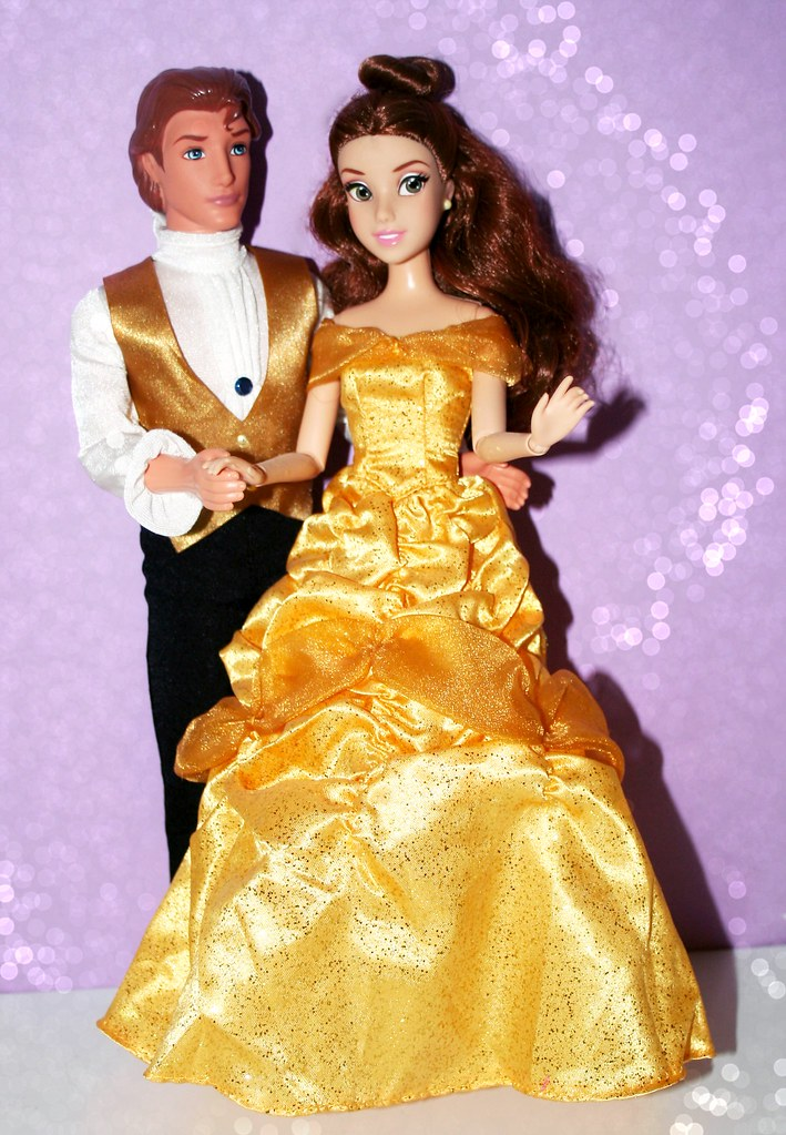 Belle And Prince Adam Dolls