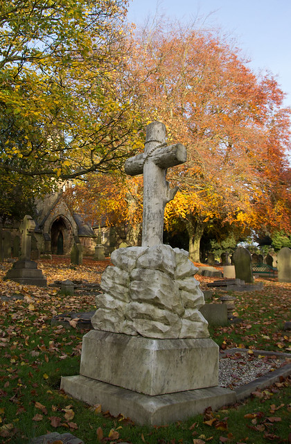 Autumn in the cemetry.