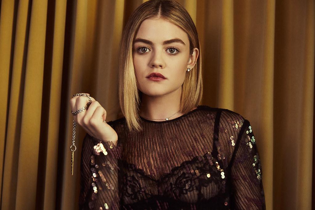 Люси Хейл — Фотосессия для «Elle» 2016 – 3