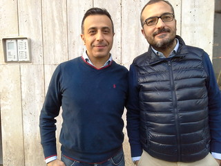 Due amici al bar... Giuseppe Tardi e Giuseppe Gravinese