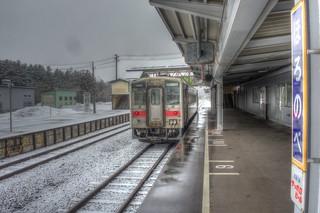 Horonobe Station on APR 09, 2016 (4)