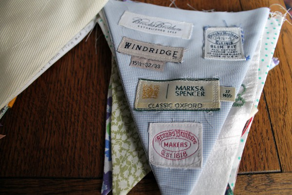 Shirt Label Bunting - Misericordia