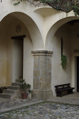 un angolo del convento