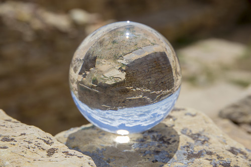 landscape ruins sphere elmorronationalmonument glassorb