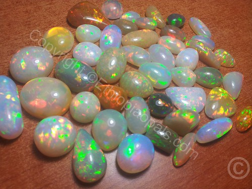 1000ctw Top Gem Quality Welo Ethiopia Opal Cabs