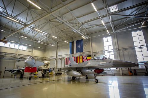 Baltic Air Policing augmenting Nation Handover-Takeover in Amari Air Base, Estonia
