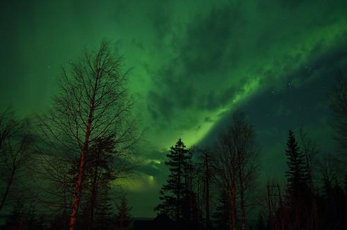 Aurora borealis 3.4.2016