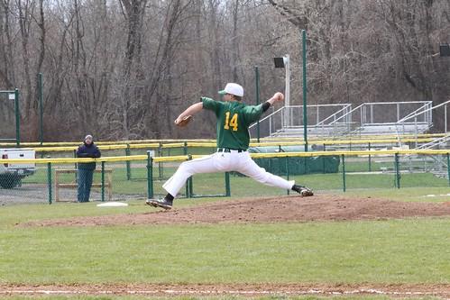 Baseball vs Hamilton 4/10/16
