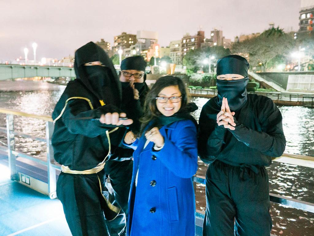 Yakatabune Tokyo Bay Ninja Cruise