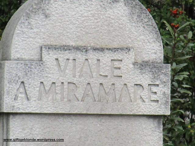 Viale a Miramare, Miramare, Triest