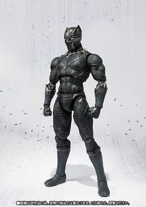 S.H.Figuarts 美國隊長3:英雄內戰【黑豹】Black Panther