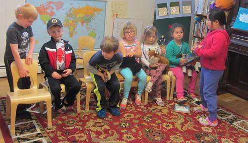 animal puppet school