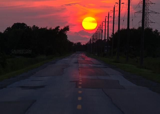 North Talbot Sunset