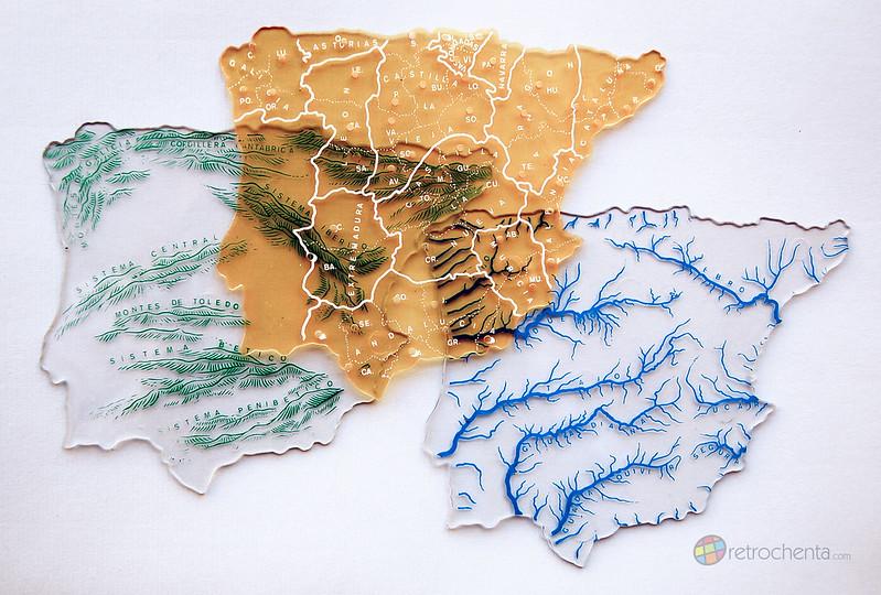 Plantillas Mapas España - geografía