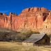 The Historic Fruita Barn at Capitol Reef National Park by Dave Toussaint (www.photographersnature.com)