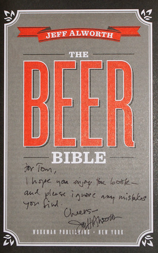The Beer Bible (inscription)